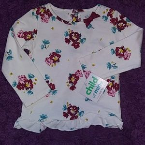 NWT child of mine Girls blouse size 18m